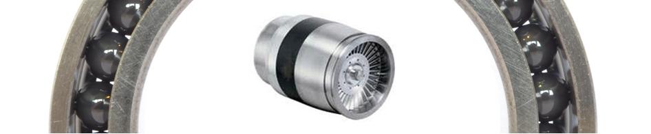 Roulements hybrides pour paliers magnétiques banner2 Hybridwälzlager für Magnetlager