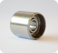 Special bearing for pinch roller