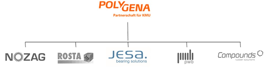 Organigramme POLYGENA Group